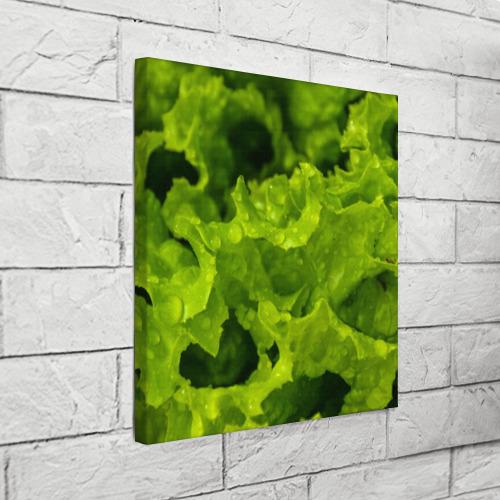 Холст квадратный  Фото 03, Зелень