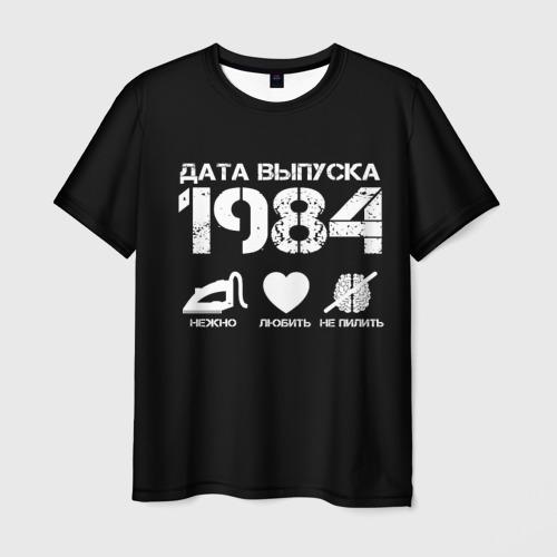 Мужская футболка 3D  Фото 01, Дата выпуска 1984