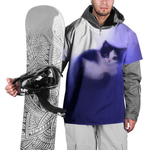 Накидка на куртку 3D  Фото 01, Киса