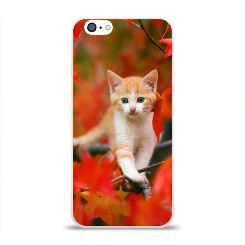 Чехол для Apple iPhone 6 силиконовый глянцевый  Фото 01, Листья