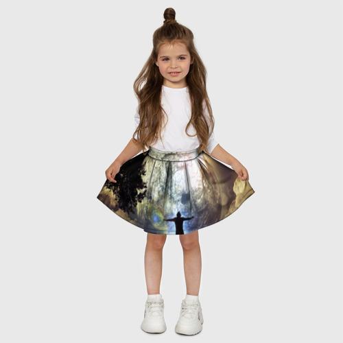 Детская юбка-солнце 3D  Фото 03, Полнолуние