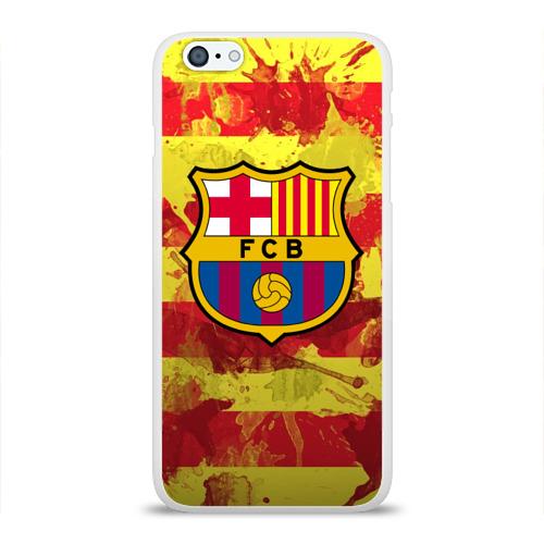 Чехол для Apple iPhone 6Plus/6SPlus силиконовый глянцевый  Фото 01, Барселона №1!
