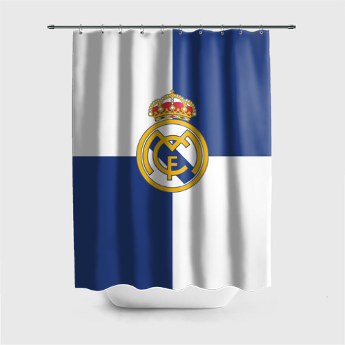 Штора 3D для ванной Real Madrid №1!