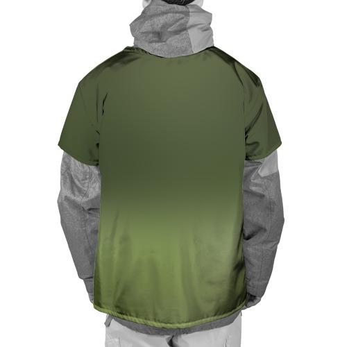 Накидка на куртку 3D  Фото 02, Котенок на траве