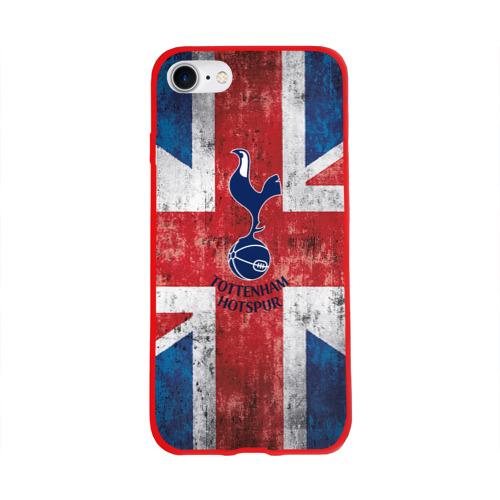 Чехол для Apple iPhone 8 силиконовый глянцевый Tottenham №1!