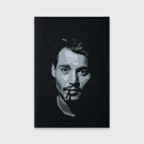 Обложка для паспорта матовая кожа  Фото 01, Джонни Депп