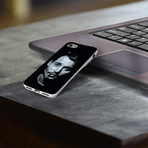 Чехол для Apple iPhone 8 силиконовый глянцевый  Фото 03, Джонни Депп