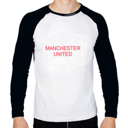 Manchester United - Old Trafford (белый рисунок)