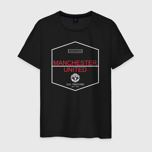 Manchester United - Old Trafford (белый рисунок)