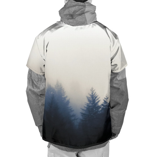 Накидка на куртку 3D  Фото 02, Twin Peaks