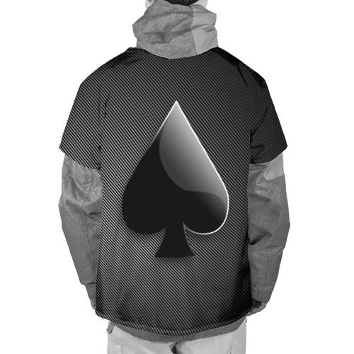 Накидка на куртку 3D  Фото 02, Poker (пики)
