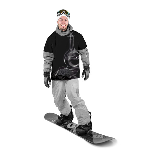 Накидка на куртку 3D  Фото 03, Водка и черная икра