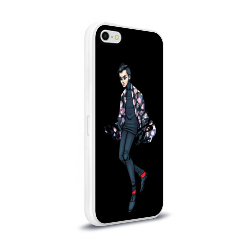 Чехол для Apple iPhone 5/5S силиконовый глянцевый  Фото 02, Demon