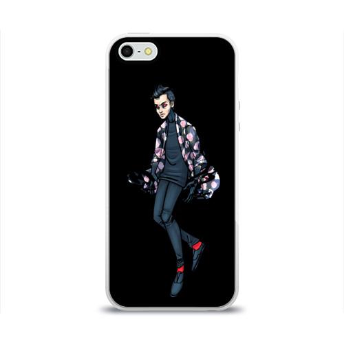 Чехол для Apple iPhone 5/5S силиконовый глянцевый  Фото 01, Demon
