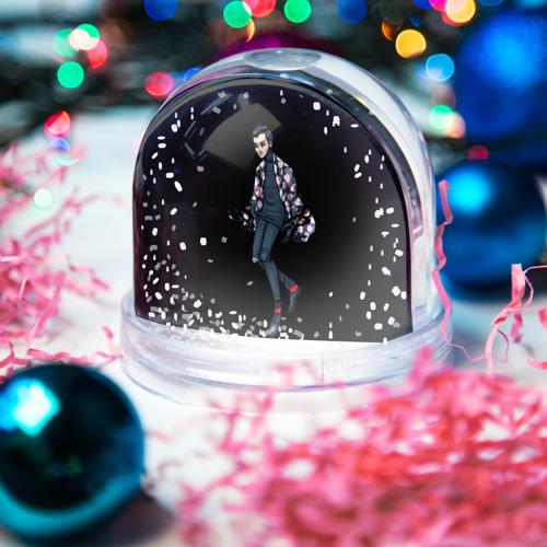 Водяной шар со снегом  Фото 03, Demon