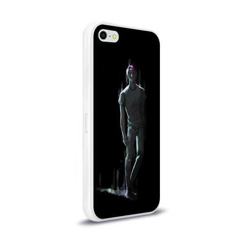 Чехол для Apple iPhone 5/5S силиконовый глянцевый  Фото 02, Jim