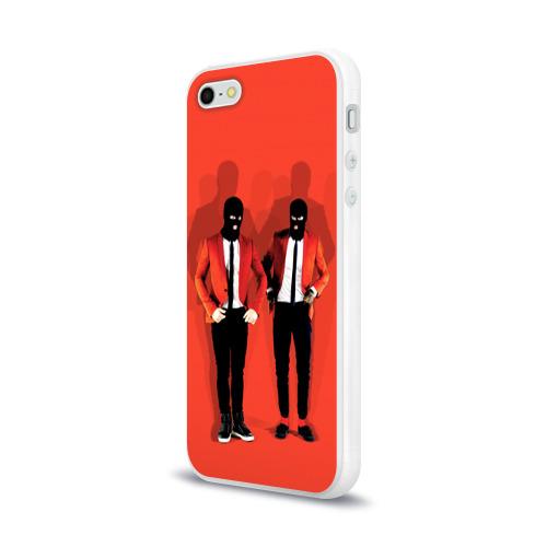 Чехол для Apple iPhone 5/5S силиконовый глянцевый  Фото 03, 21 Pilots