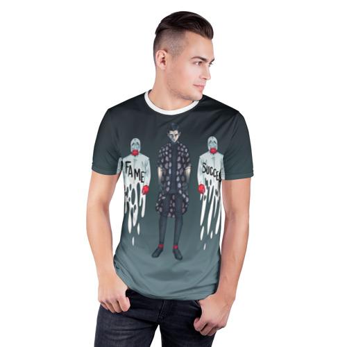 Мужская футболка 3D спортивная  Фото 03, Fame Success