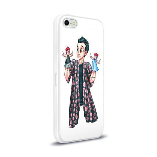 Чехол для Apple iPhone 5/5S силиконовый глянцевый  Фото 02, Puppets
