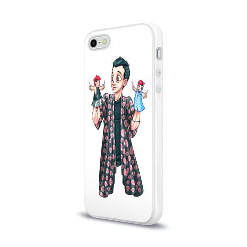 Чехол для Apple iPhone 5/5S силиконовый глянцевый  Фото 03, Puppets