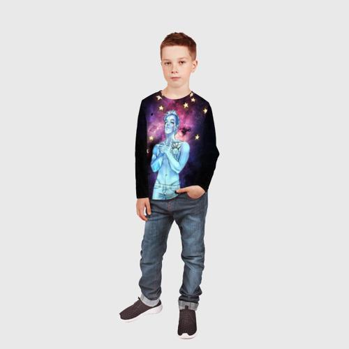 Детский лонгслив 3D  Фото 05, 21 Space Pilots