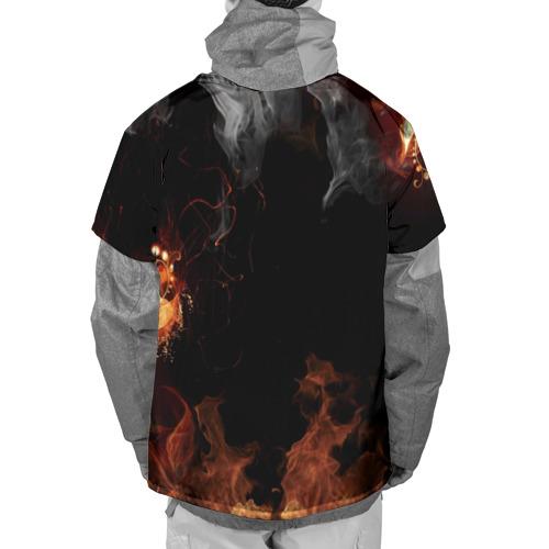 Накидка на куртку 3D  Фото 02, Волшебство начинается с огня