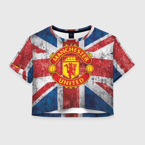 Женская футболка Cropp-top Manchester United №1!