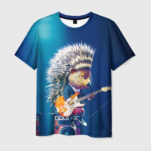 Мужская футболка 3D  Фото 01, Животный рок