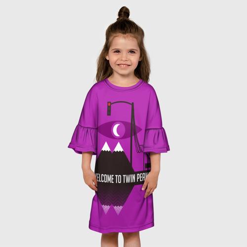 Детское платье 3D  Фото 01, Welcome
