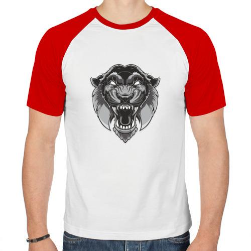 Мужская футболка реглан  Фото 01, Пантера SWAG