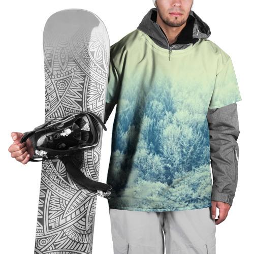 Накидка на куртку 3D  Фото 01, Снежный лес