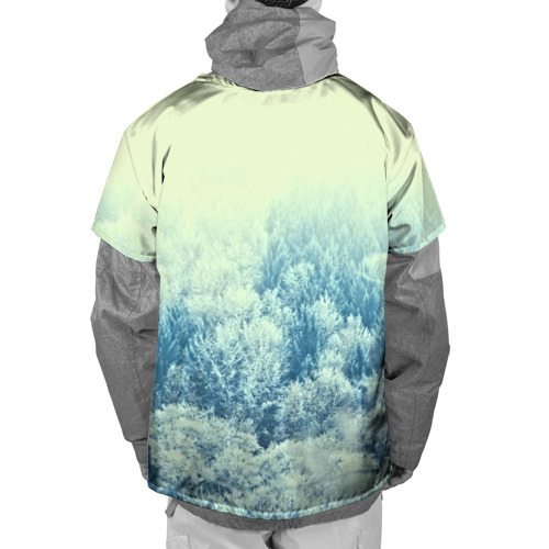 Накидка на куртку 3D  Фото 02, Снежный лес