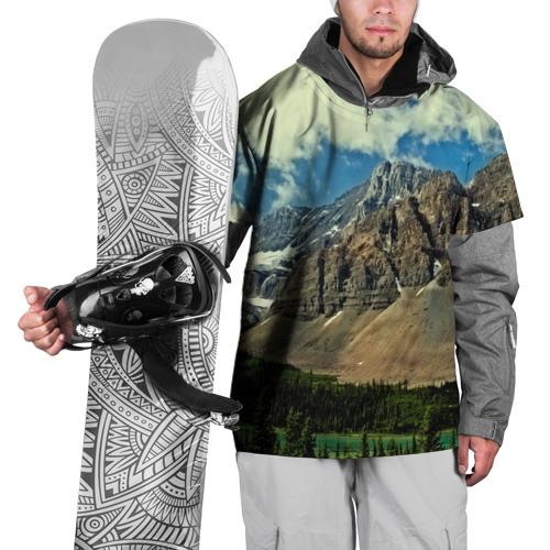 Накидка на куртку 3D  Фото 01, Высокие горы