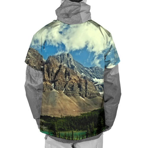Накидка на куртку 3D  Фото 02, Высокие горы