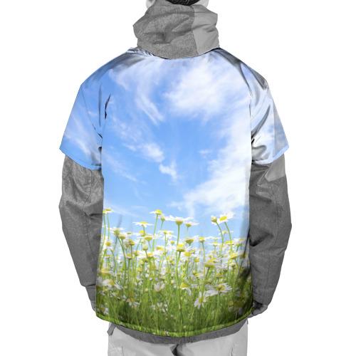 Накидка на куртку 3D  Фото 02, Ромашковое поле