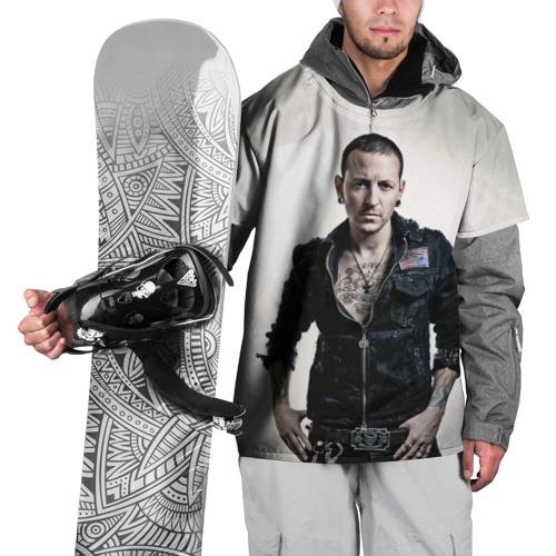 Накидка на куртку 3D  Фото 01, Честер Беннингтон