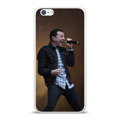 Чехол для Apple iPhone 6Plus/6SPlus силиконовый глянцевый  Фото 01, Linkin Park