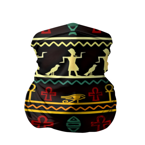 Бандана-труба 3D  Фото 01, Египетский узор