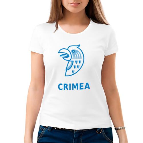 Женская футболка хлопок  Фото 03, Крым