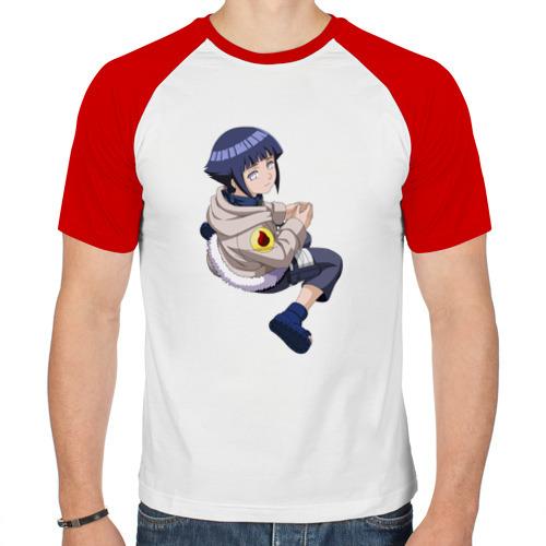 Мужская футболка реглан  Фото 01, Хината Хьюга