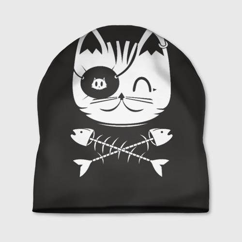 Шапка 3D Кот пират