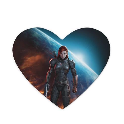 Коврик для мыши сердце  Фото 01, Mass Effect