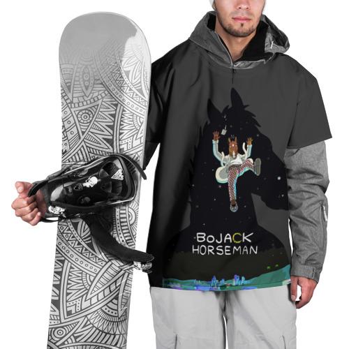 Накидка на куртку 3D  Фото 01, Конь БоДжек