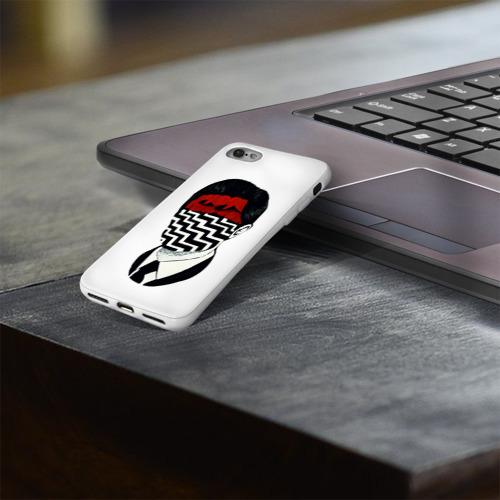 Чехол для Apple iPhone 8 силиконовый глянцевый  Фото 03, Твин Пикс