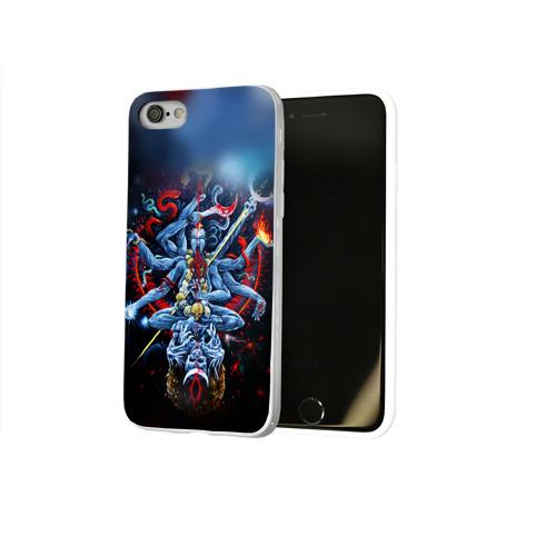 Чехол для Apple iPhone 8 силиконовый глянцевый  Фото 02, Cult of Fire