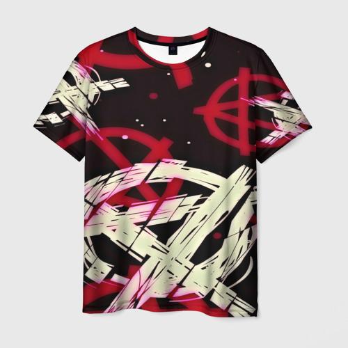 Мужская футболка 3D  Фото 01, Anarchy