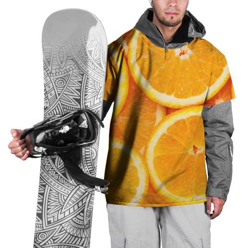Накидка на куртку 3D  Фото 01, Апельсинка