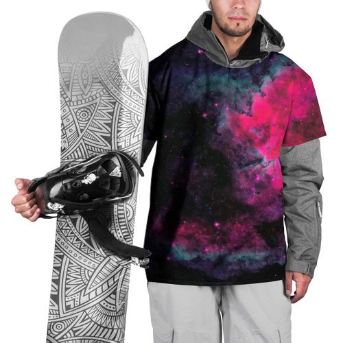 Накидка на куртку 3D Загадочный космос Фото 01