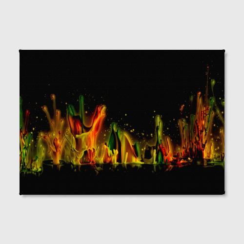 Холст прямоугольный  Фото 02, Цветные брызги