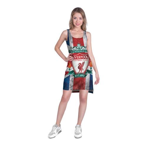 Платье-майка 3D  Фото 03, Ливерпуль ФК